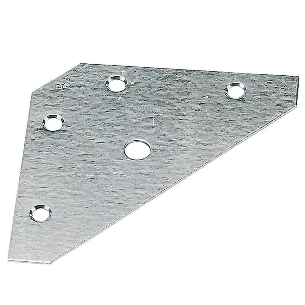 Corner Repair/Reinforcement Plate Zinc Plated 83mm.